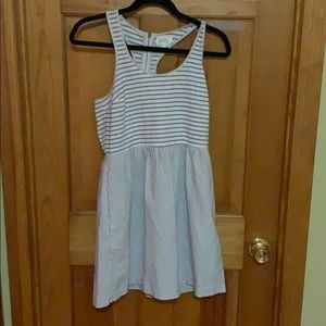 Loft Lou and Grey Striped Dress